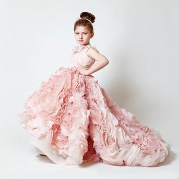 Baby Girl Dress 2019 Inant Clothes Wedding Princess Dresses For Girls Kids Christening 2 1 Years First Birthday Girl Party Dress