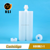 600ml 2 Ratio Silicone Sealant Cartridge, Epoxy Cartridge