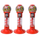 Spiral Gumball Capsules Vending Machine Subway Station Coin Operated Vending Machine