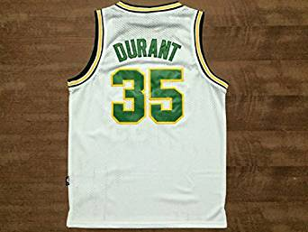 low priced eff34 46c59 Buy Seattle Supersonics #35 Kevin Durant White Throwback ...
