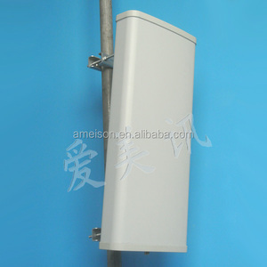 806-960MHz 15dBi 120 Degree Vertical Polarized Directional CDMA GSM Sector Panel 900 mhz antenna base station