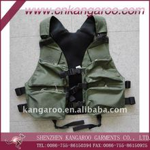 Cool Multi- functional canvas hunting vest Cambat vest