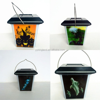 led solar garden lamps mini halloween decoration lights for outdoor or inddor use