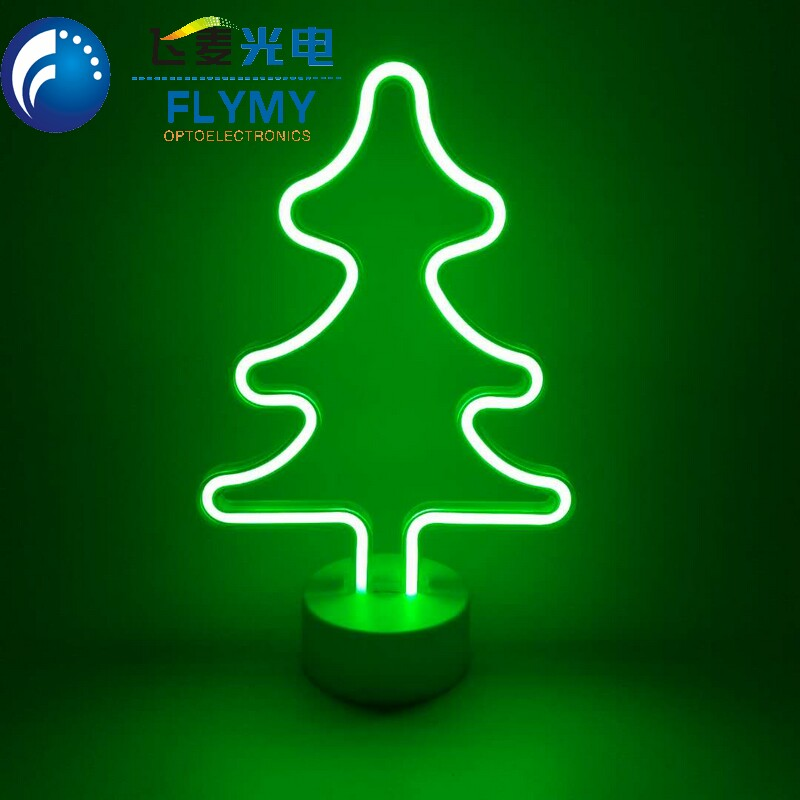 Battery Powered Night Table Light Led Neon Light for Wedding Party Home Decoration