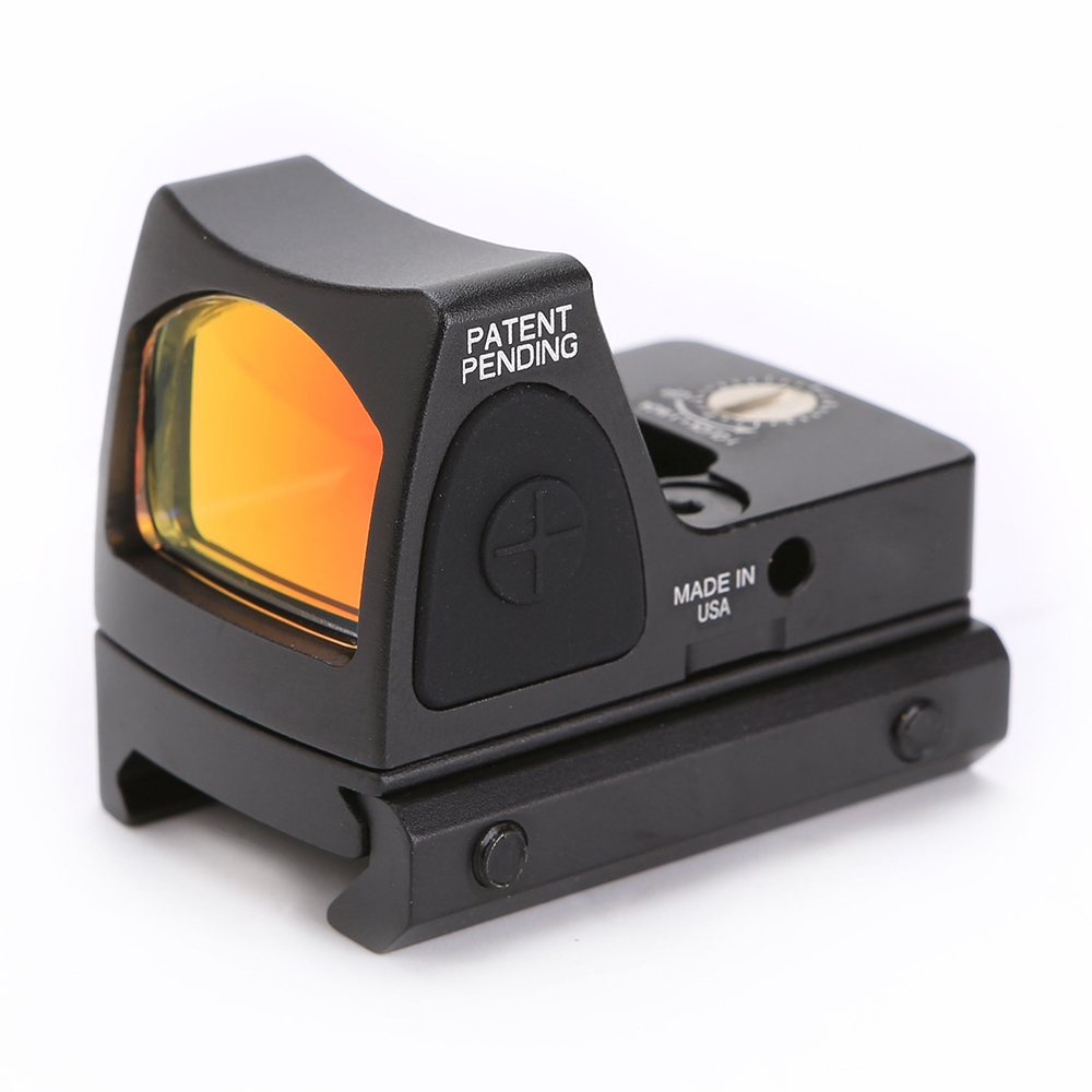 SPINA Mini RMR Red Dot Sight Scope For Collimator Reflex Airsoft Hunting Rifle fit 20mm Weaver Rail
