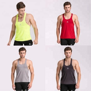 Manufacturer Wholesale Mens Bodybuilding Fitness Apparel Blank Gym Stringer Vest For Summer Outdoor Exercise