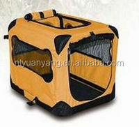 portable folding fabric pet carrier dog carrier