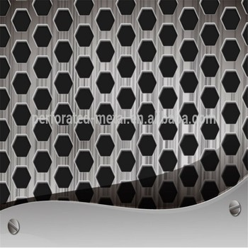Good Quality Decorative Perforated Metal Mesh Decorative
