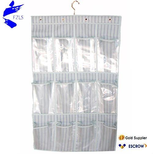 Tejido de pl stico de pared de bolsillo colgando - Organizador de bolsas de plastico ...
