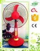 12v dc solar table fan led light air hockey table fan specifications