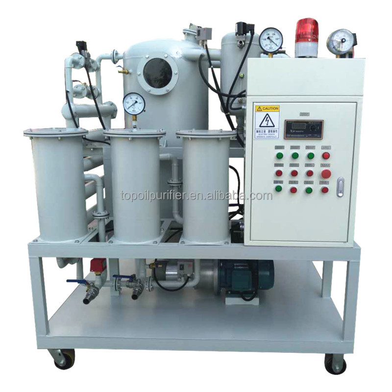 ZYD-50 Double Stage High Vacuum Online Transformer Oil Filtering Equipment