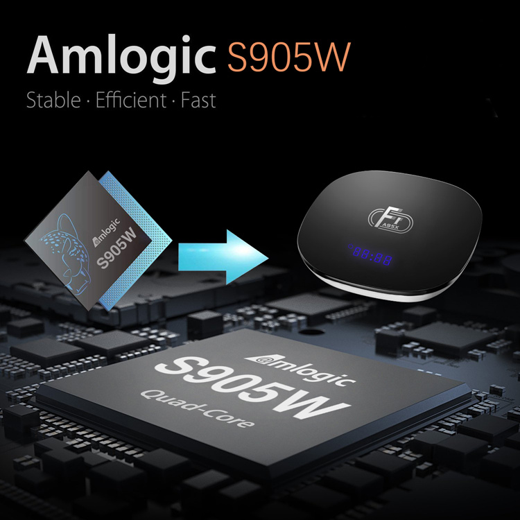 Ali Cheapest Amlogic s905w New Arrival A95x F1 Greatworth android 7.1.2 4k smart tv box