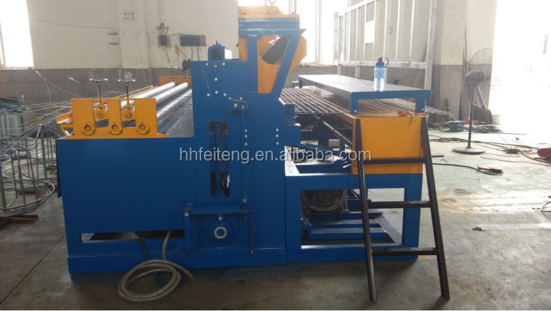 plc system wire mesh welding machine ,mesh opening 50*300mm