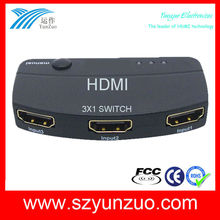 Mini rca HDMI Switch 3x1
