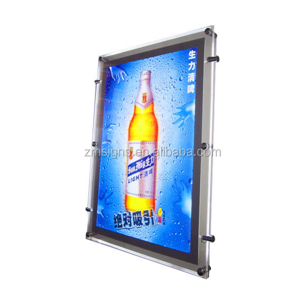 Outdoor Double Side solar advertising LED Light Box