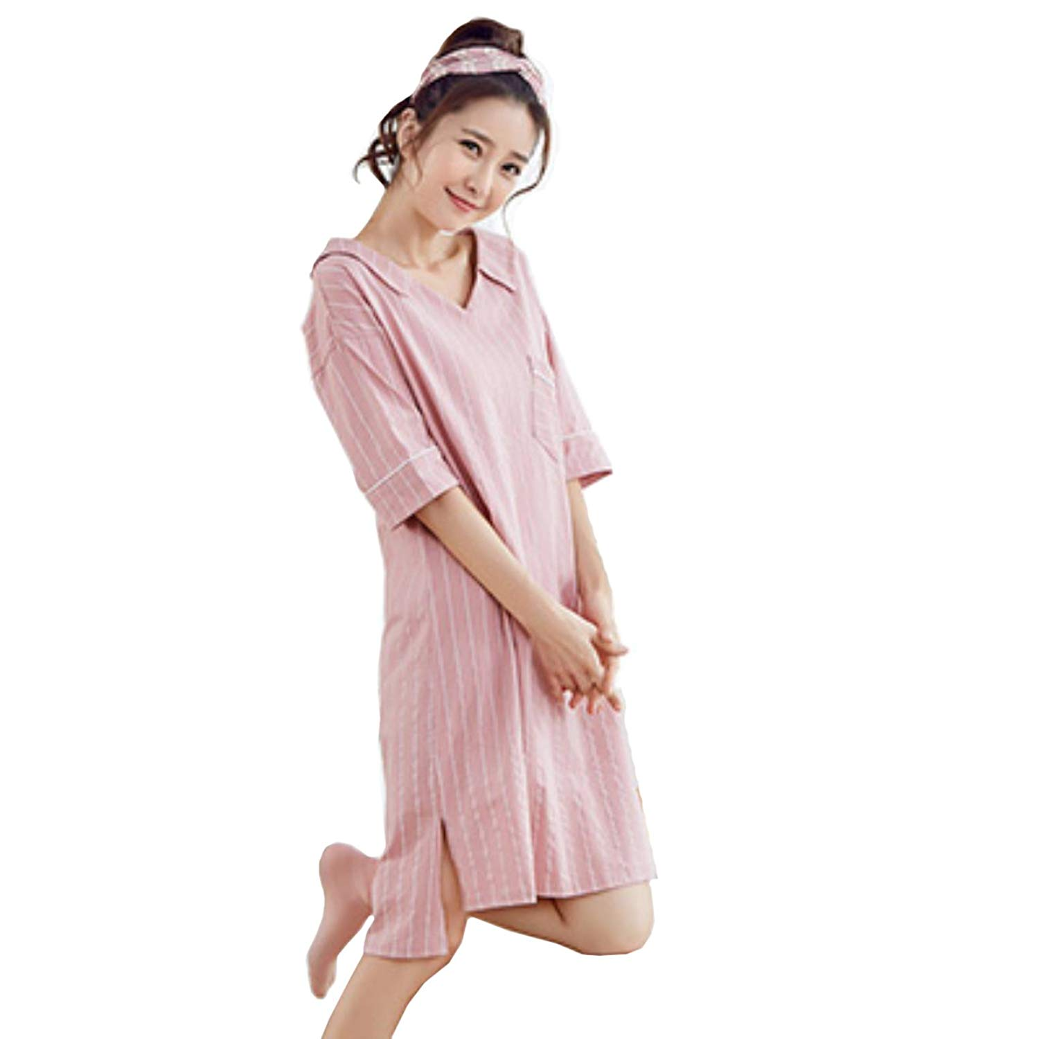 Ladies Incontinence Open Back Floral Hospital Nightdresses Nightie By Lady Olga