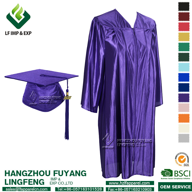 Purple Graduation Gowns, Purple Graduation Gowns Suppliers and ...