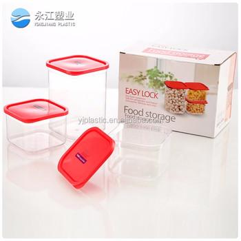 Wholesale Food Storage Bowl Collapsible Plastic Food Storage