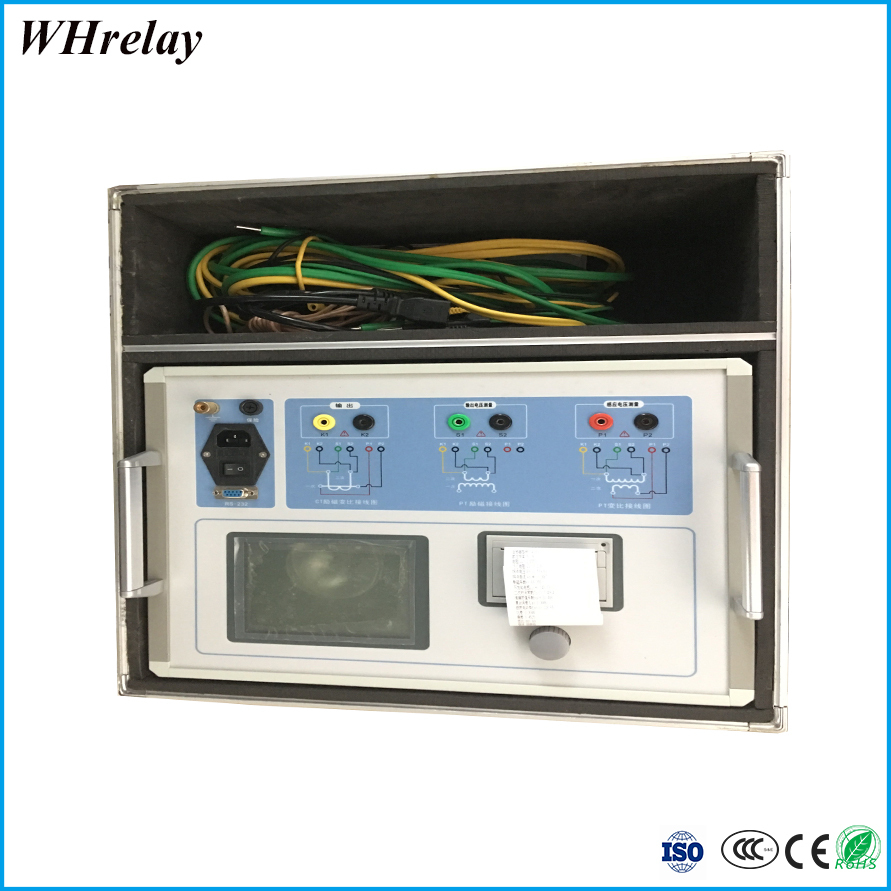 Convenient high efficiency current and voltage transformer tester for potential fault