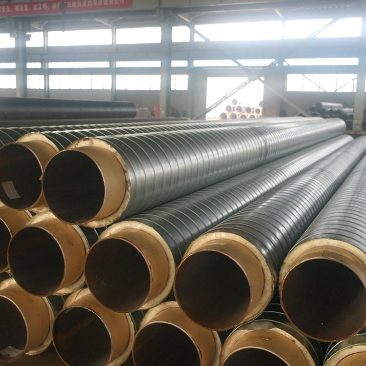 कस्टम polyurethane dn300 पूर्वनिर्मित इन्सुलेशन steelpipe