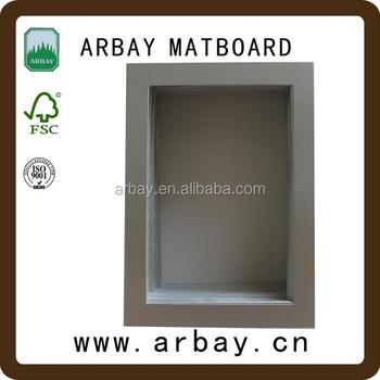 38 Degree Bevel Cut Glass Frame Matboard & Uncut Matboard ...