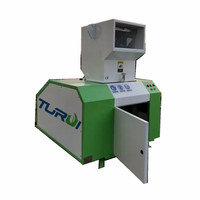 low speed waste plastic crusher plastic crushing machine