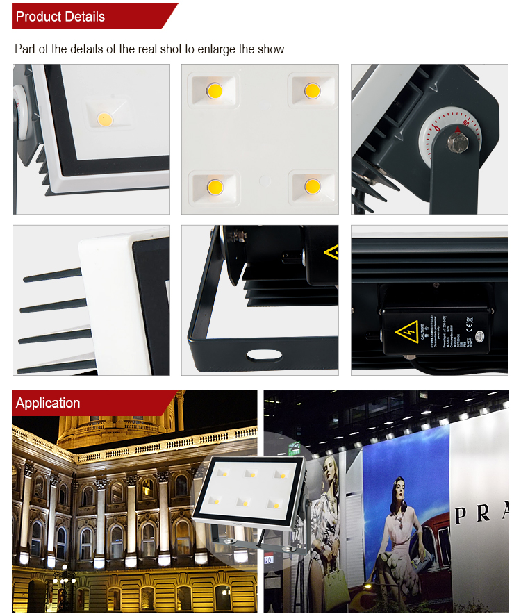 High lumen Bridgelux cob IP65 waterproof outdoor 10W 20W 25W 30W 50W 100W led flood light