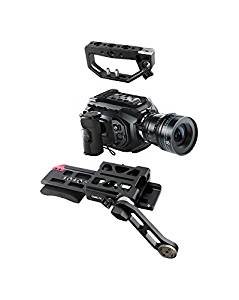 Came-TV Mini Rig Pro Kit for Blackmagic URSA Camera, Includes Top Handle, Quick Release Base Plate with Padded Shoulder Rest