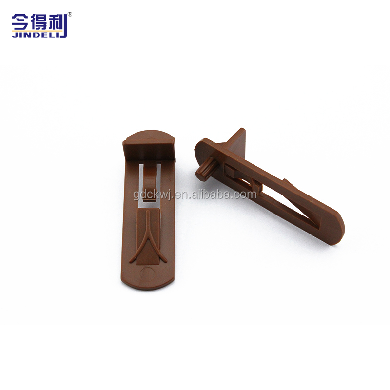 Bulk wholesale furniture fitting shelf support plastic brackets