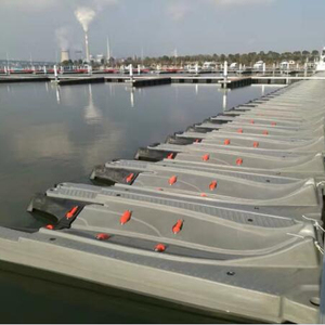 Plastic jet ski dock floating pontoon dock