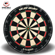 2017 WINMAX new design 18 inch Round classical bristle dartboard with 6 darts