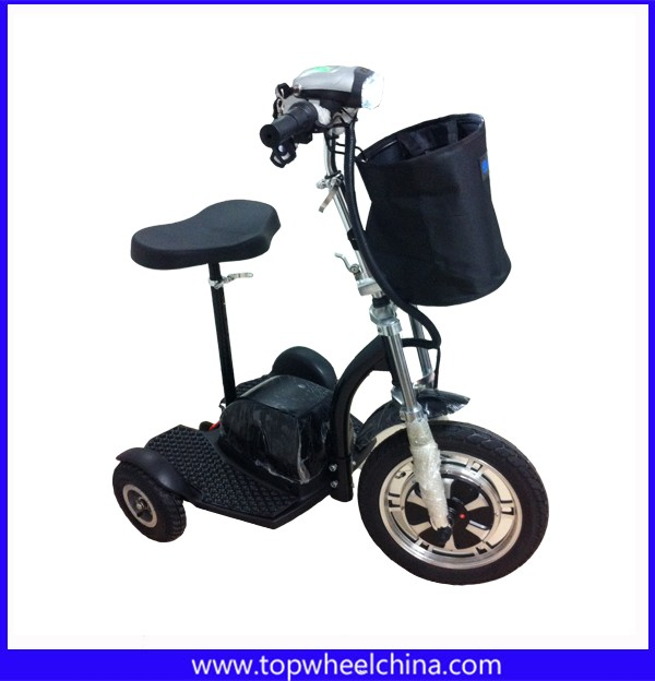 16 big tire stable adult motor zappy 3 wheel electric for Big wheel motor scooter