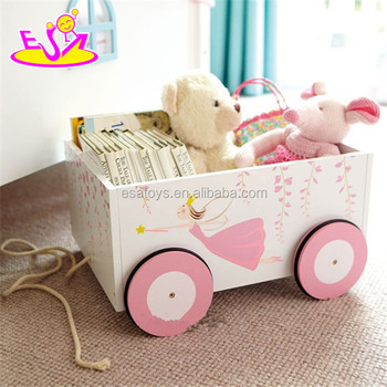 Supply Cheap Fashion Pretty Wooden Toy Box For Storage Book,Multi  Functional Decorative Wooden Toy