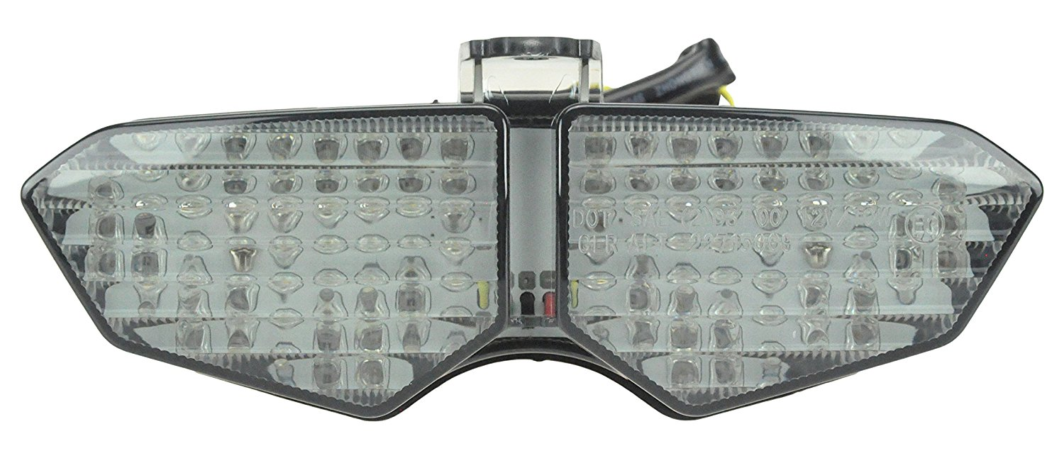 Bright2wheels Yamaha 03-05 R6, 06-09 R6S Smoke Sequential LED Tail Light