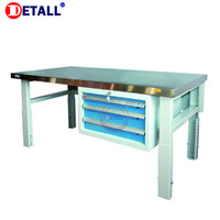 Detall- stainless steel work tables and benches