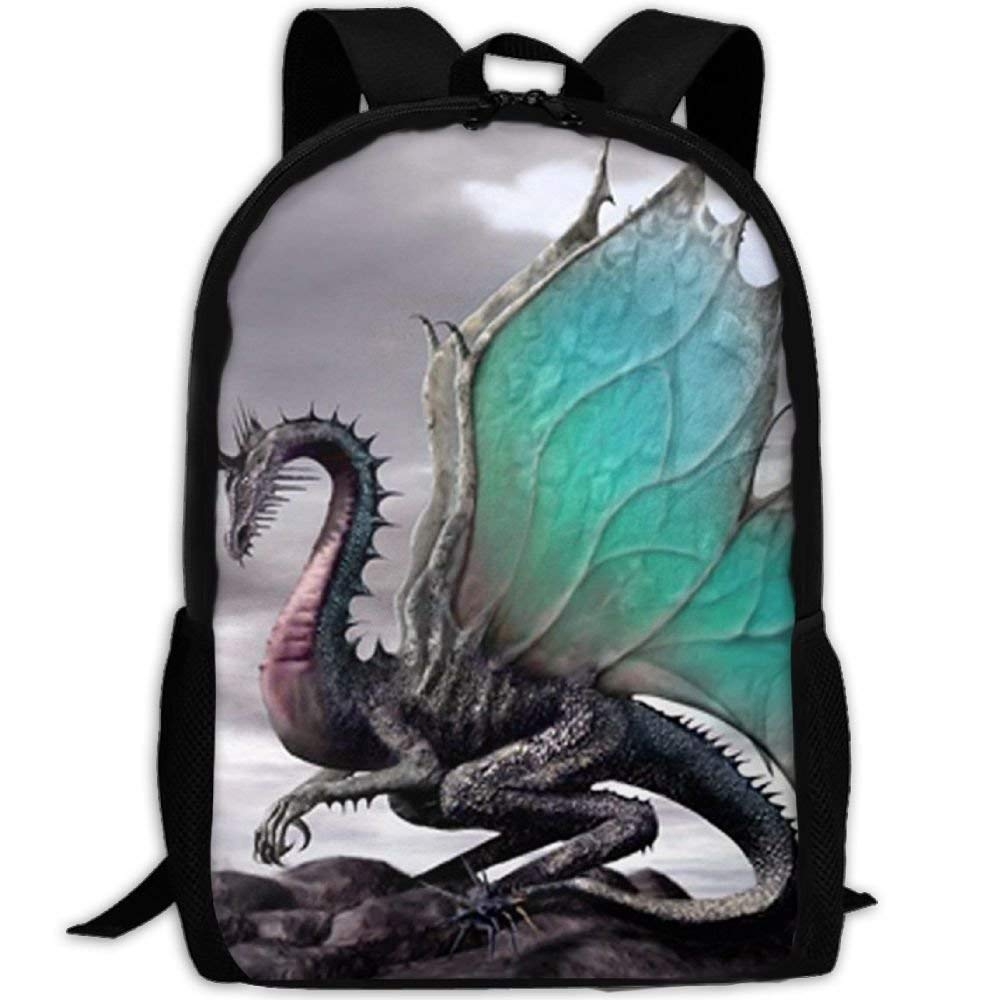 Get Quotations · Lhxsfs75 Laptop Backpack For Women Men Flying Dragon  Student Backpack 82ab893450