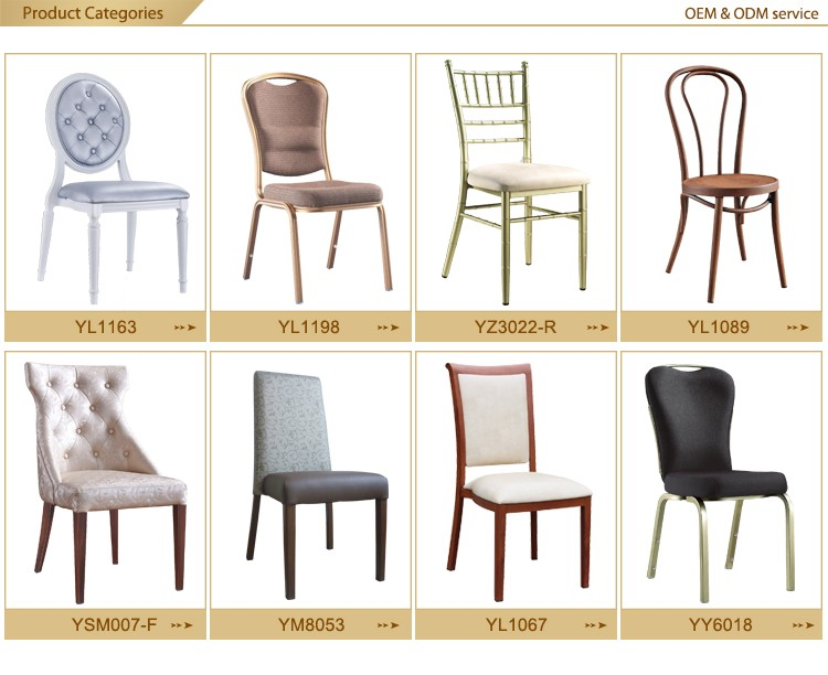 Stackable Banquet Chairs Wholesale wholesale luxury hotel furniture aluminum dining banquet chair