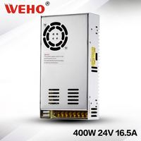 Non-waterproof 400w 24v power converter 400w dc power supply