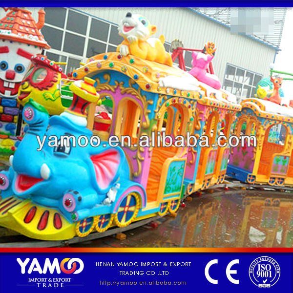 outdoor/indoor kiddie mini train/electric train christmas