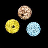 Loose Rhinestone Disco Ball Beads jewellery Wholesale Shamballa Beads