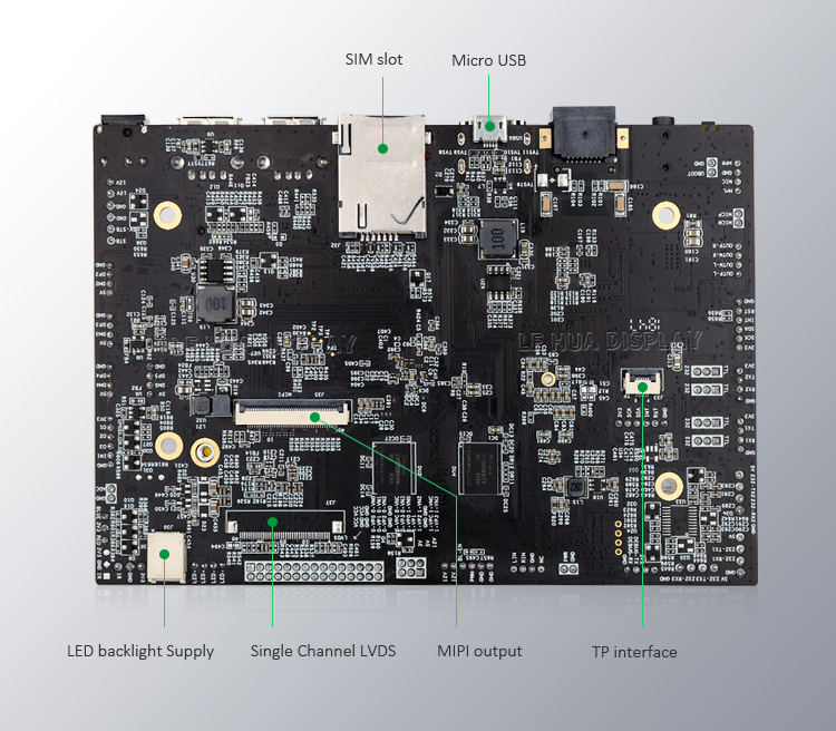 A64 Android Mainboard For 10inch-32 inch inch Advertising POS Machine ODM Android Tablet