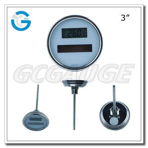 High quality solar electric water heaters thermometer