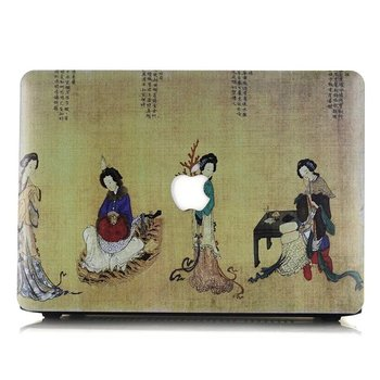 Classical Chinese Design Hard Case Cover For Macbook Pro Air Retina 11 12 13 15 1706 1708