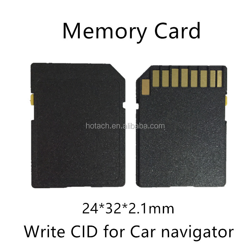 Customized write CID number pre-load data Memory Card 16GB