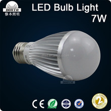Factory price low power e27 7W led bulb with backup battery