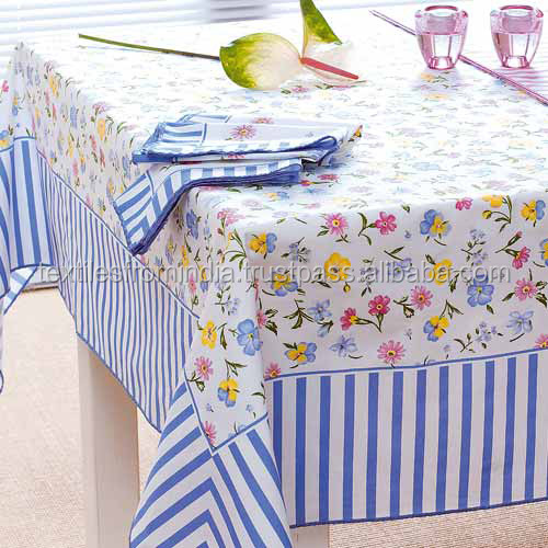 2016-17 100%cotton table cloth
