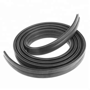 PVC extrusion t h d shaped cabinet gap trim rubber wardrobe door seal strip