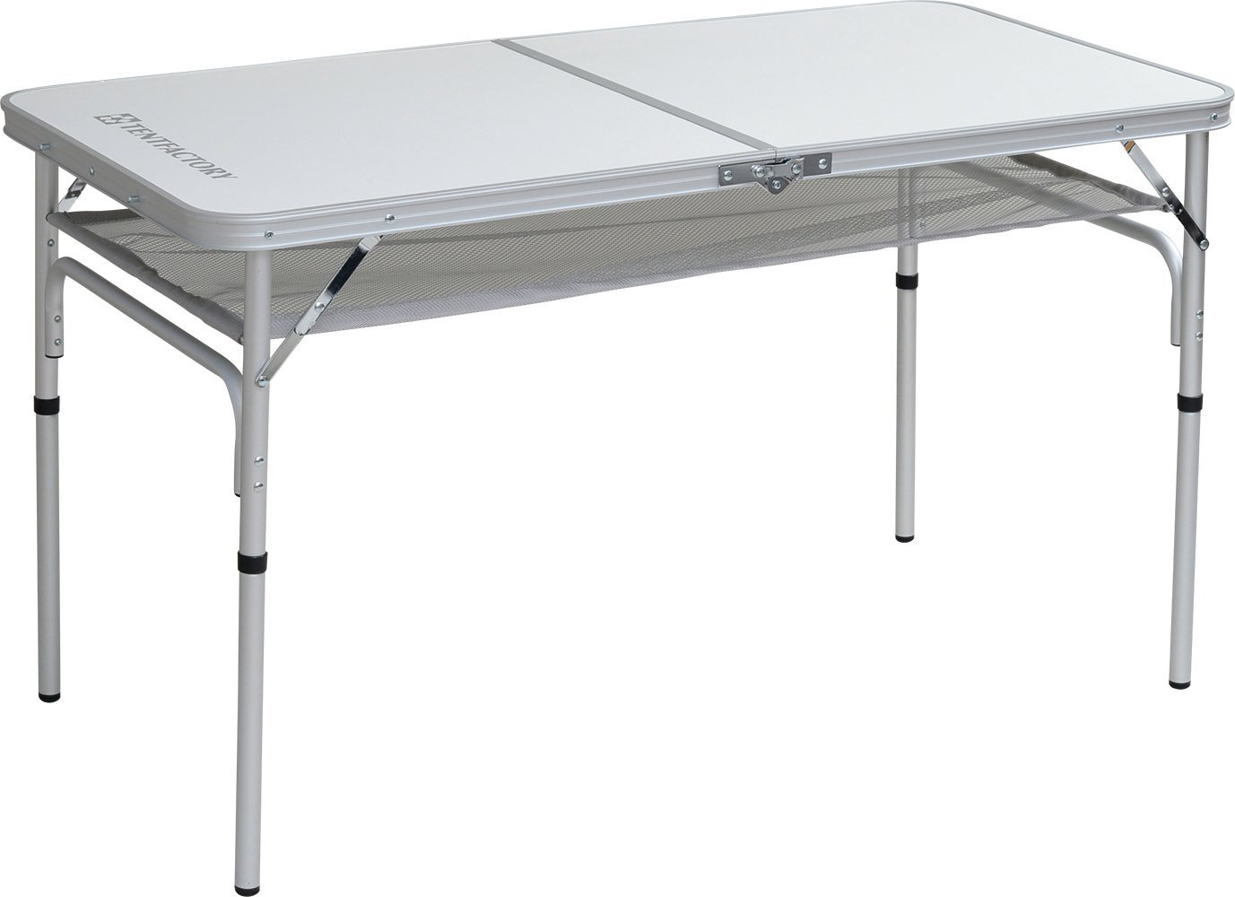 TENT FACTORY (tent factory) dual folding table 1260EX white 120 ~ 60 ~ 68 (35) cm TF-DFT1260EX-WH