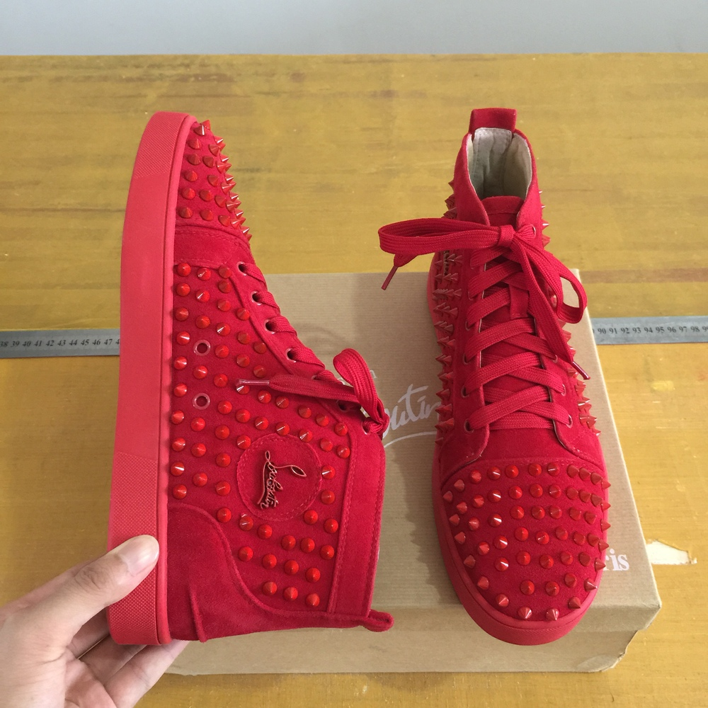best authentic e71a6 c745a red bottom shoes what brand