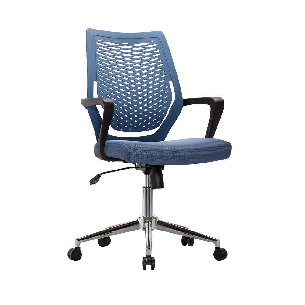 Modern ergonomic high back plastic high back blue mesh office chair